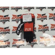 Перчатки (детские) FLY RACING F-16 красные/чёрные/белые (2020)