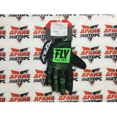 Перчатки FLY RACING KINETIC NOIZ зеленые/черные (2019)