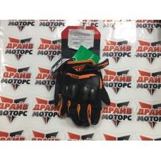 Перчатки FLY RACING PATROL XC оранжевые/черные (2019)