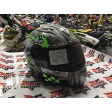 Шлем (интеграл) Origine Tonale Combat серый/желтый глянцевый