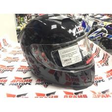Шлем (интеграл) Ataki FF311 Solid черный глянцевый