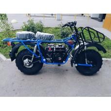 Мотоцикл внедорожный СКАУТ-2 PLUS 8E (передняя и задняя подвеска)