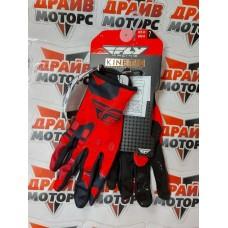 Перчатки FLY RACING KINETIK красные/черные