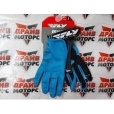 Перчатки FLY RACING синие/серые