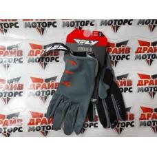 Перчатки FLY RACING серые/оранжевые/черные