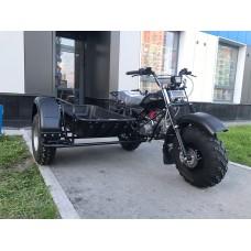Прицеп боковой для мотоциклов СКАУТ - 3 (с поддоном)