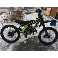 Мотоцикл с пробегом JUMPER 110