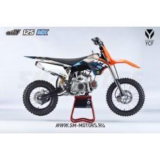 YCF BIGY 125MX 17/14 ,125cc, 2017г.