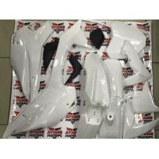 Пластик  (полный комплект) 125сс (BSE тип) белый