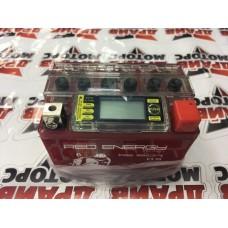 Аккумуляторная батарея 12V (114x70x86) (гелевая, необслужю.ю с ЖК дисплеем)RED ENERGY